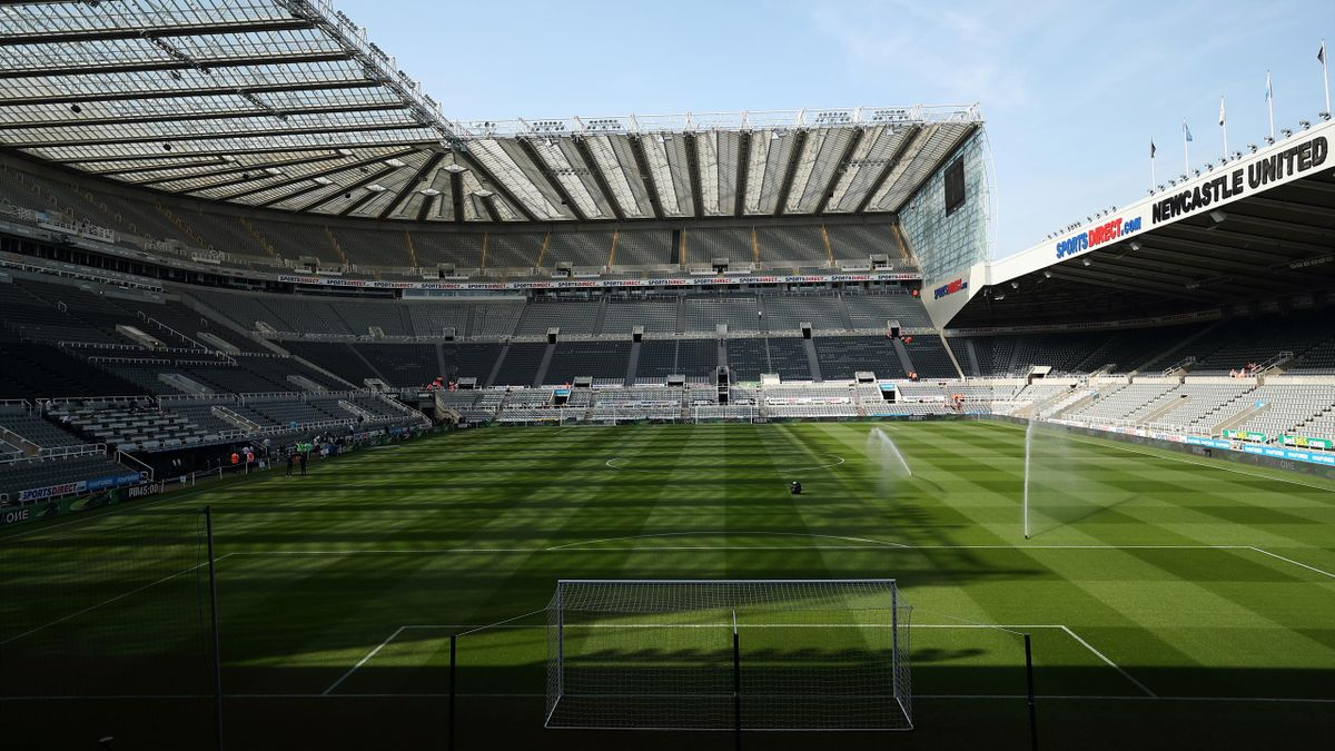 St James's Park, le stade de Newcastle
