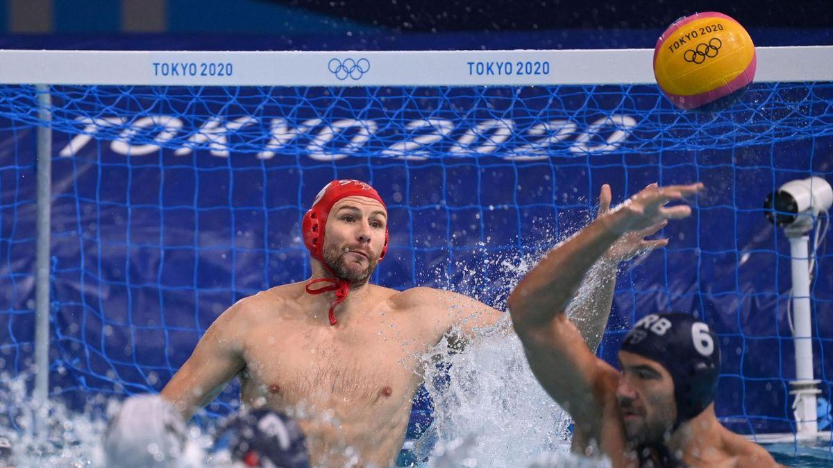Branislav Mitrovic a tokiói olimpián