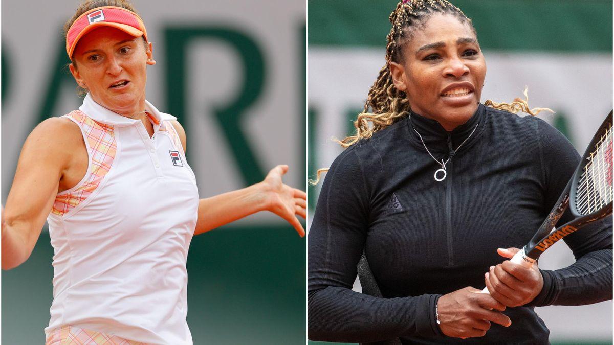 Irina Begu & Serena Williams
