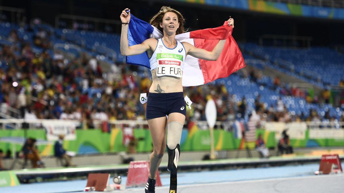 Maire-Amélie Le Fur à Rio