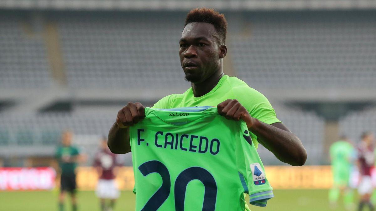 Felipe Caicedo, Lazio, Champions League, Getty Images