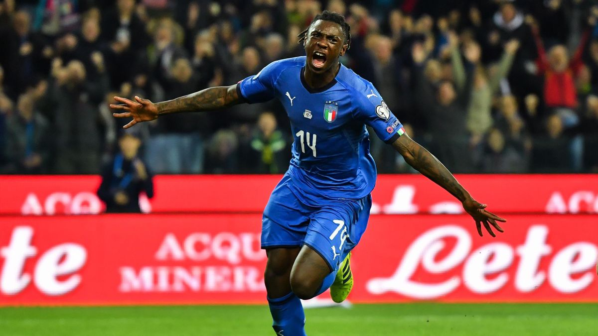 Moise Kean - Italia-Finlandia - Qualificazioni Europei 2020 - Getty Images