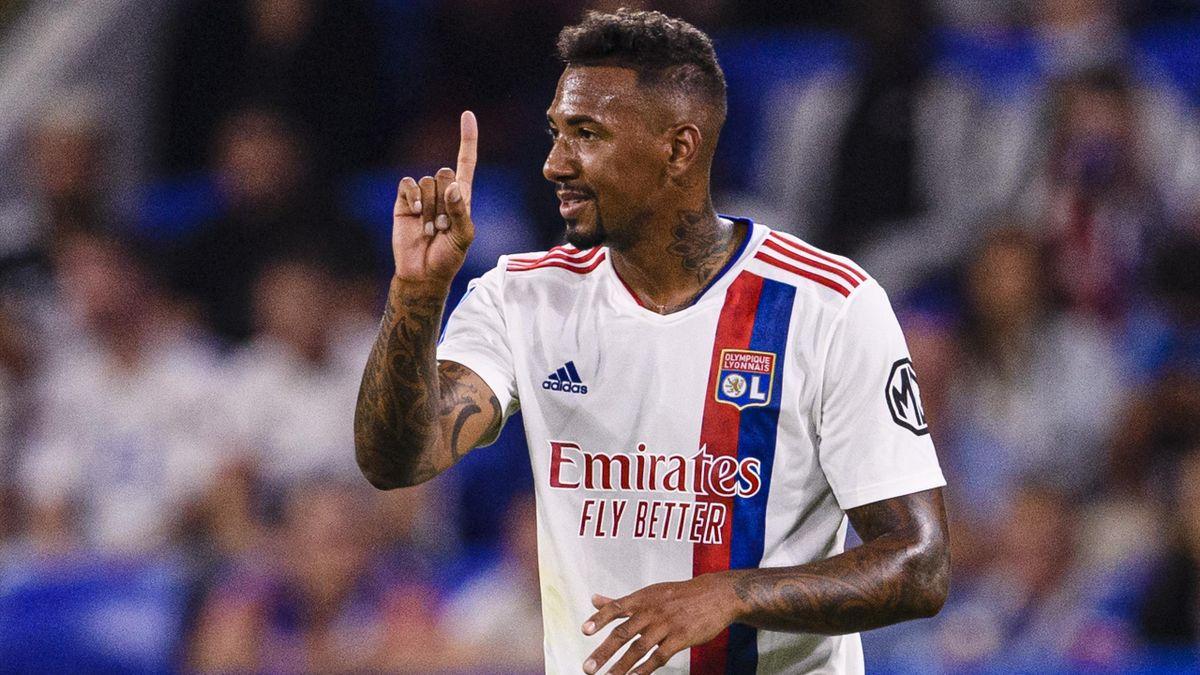 Jérôme Boateng lors de Lyon-Strasbourg.