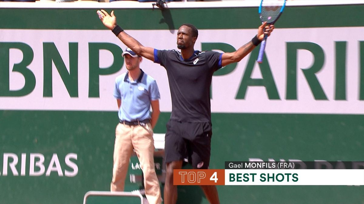 French Open : Top 5 Day 7