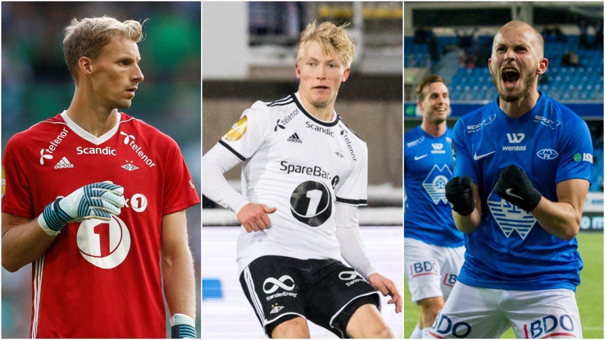 André Hansen, Birger Meling og Eirik Hestad