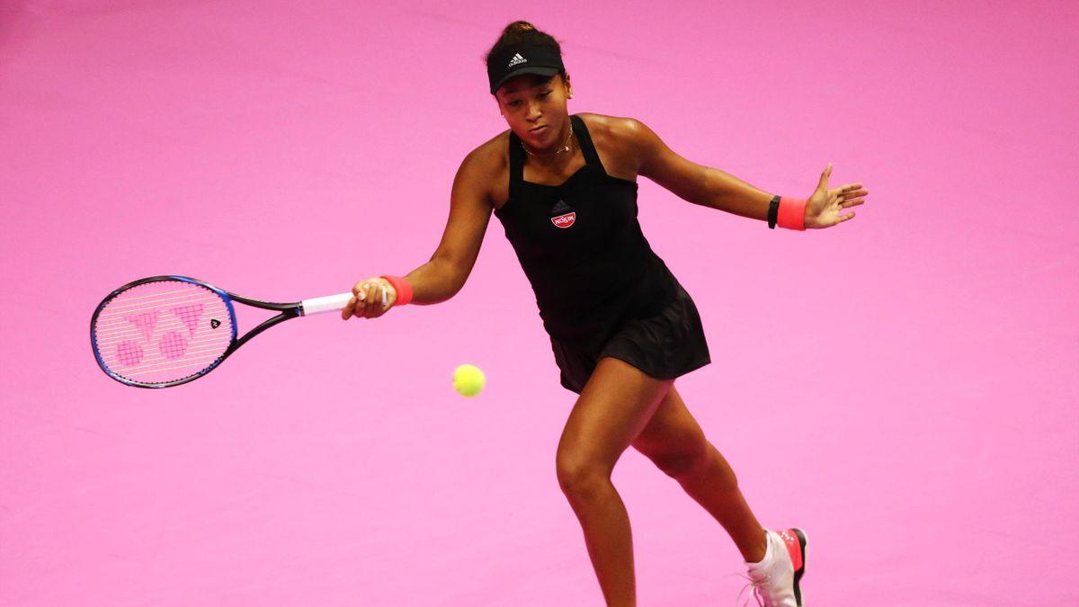 Naomi Osaka beim WTA in Tokio