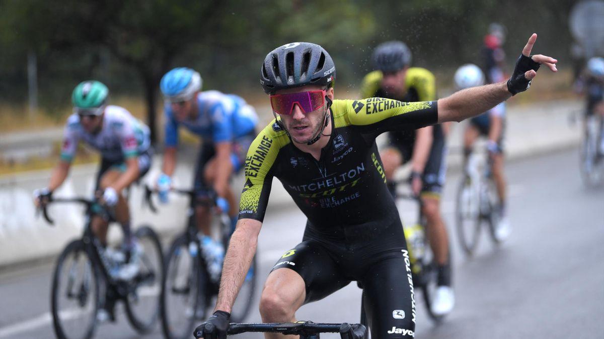 Adam Yates of The United Kingdom and Team Mitchelton - Scott during the 2020 Tour de France
