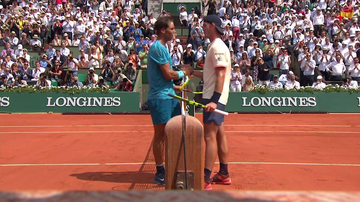 French Open Highlights : Nadal v Marterer