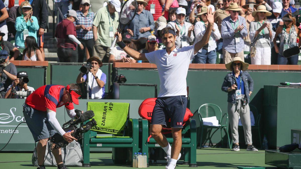 Roger Federer à Indian Wells