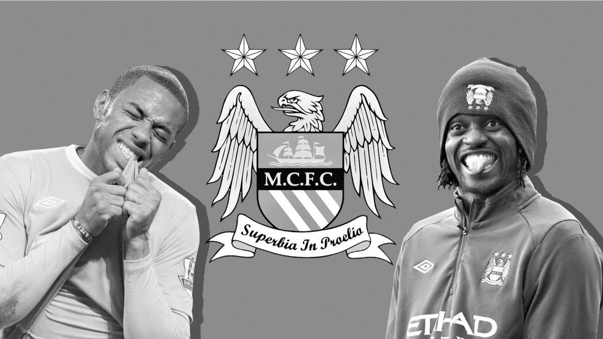 Робиньо и Эммануэль Адебайор, худшие трансферы «Манчестер Сити»