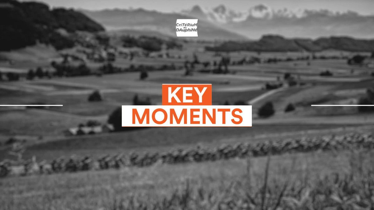 Dauphine Libere Stage 1 - Keys Moments