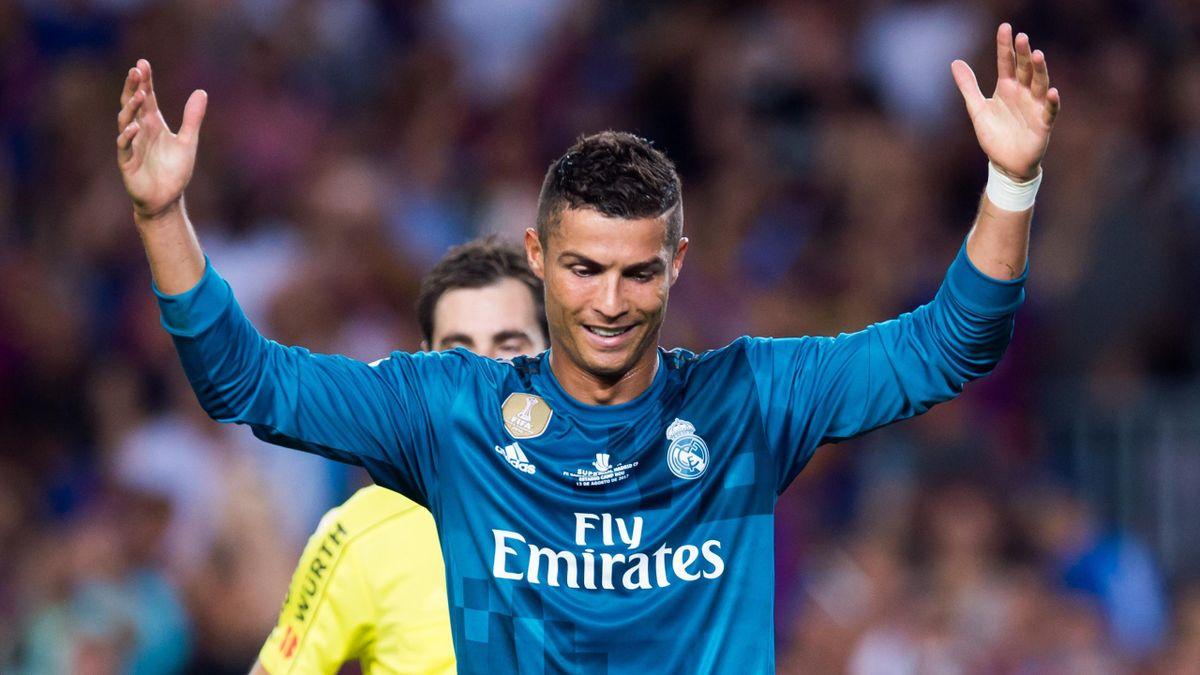 Cristiano Ronaldo face au Barça