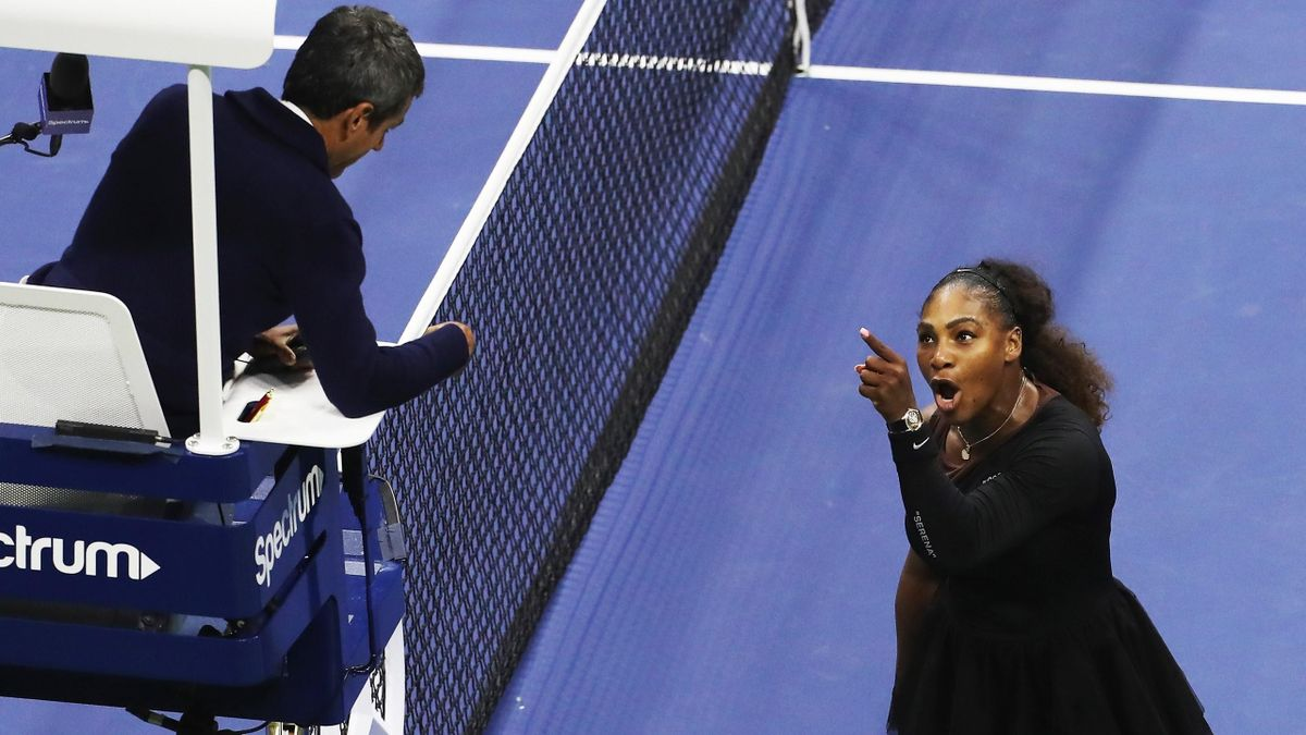 Serena Williams contra Stuhlschiedsrichter Carlos Ramos