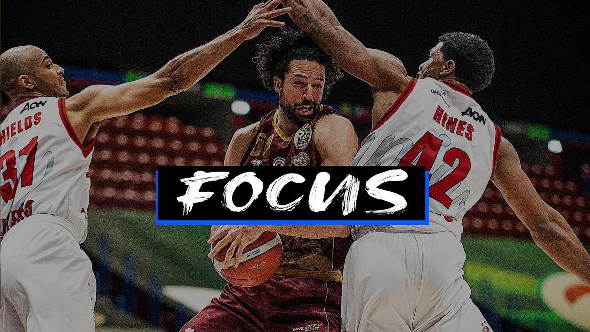 Mitchell Watt, Shavon Shields, Kyle Hines, AX Armani Exchange Milano-Umana Reyer Venezia, Serie A 2020-21