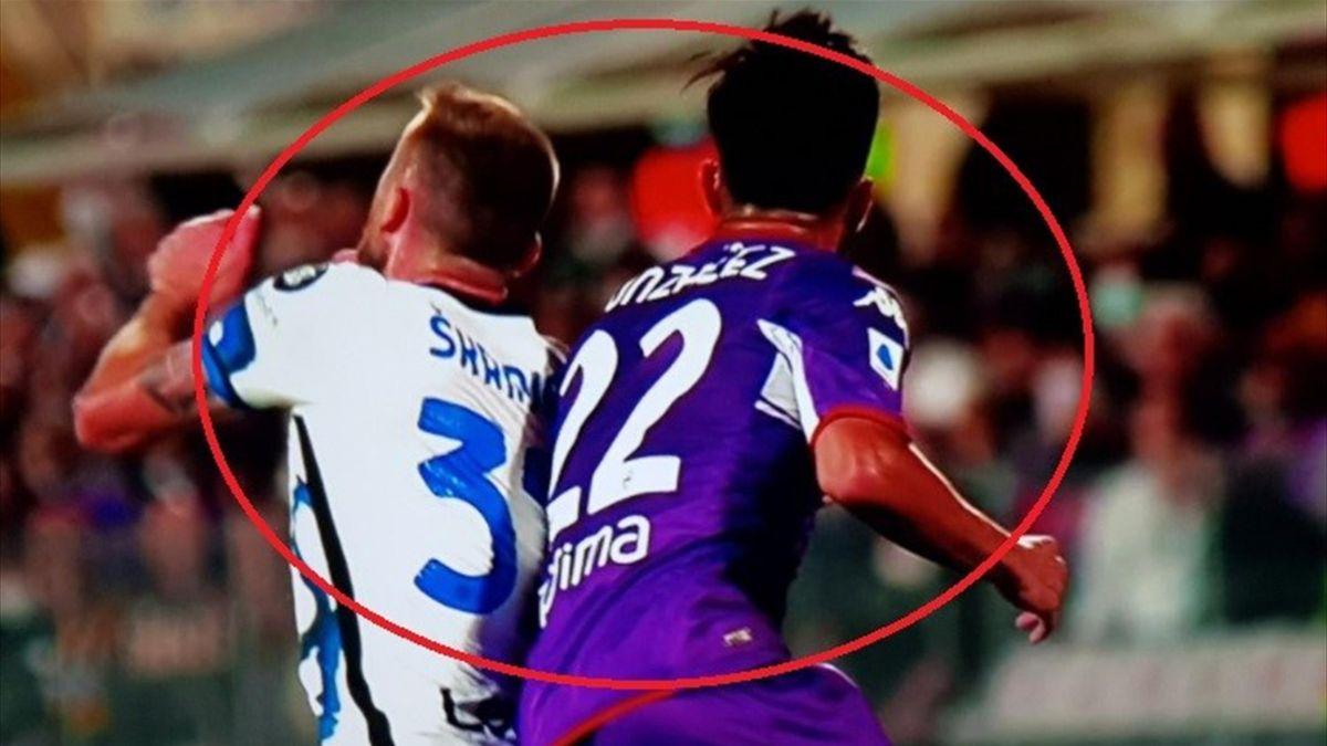 Fiorentina 1 Inter 3: partita non semplice per Fabbri: la moviola