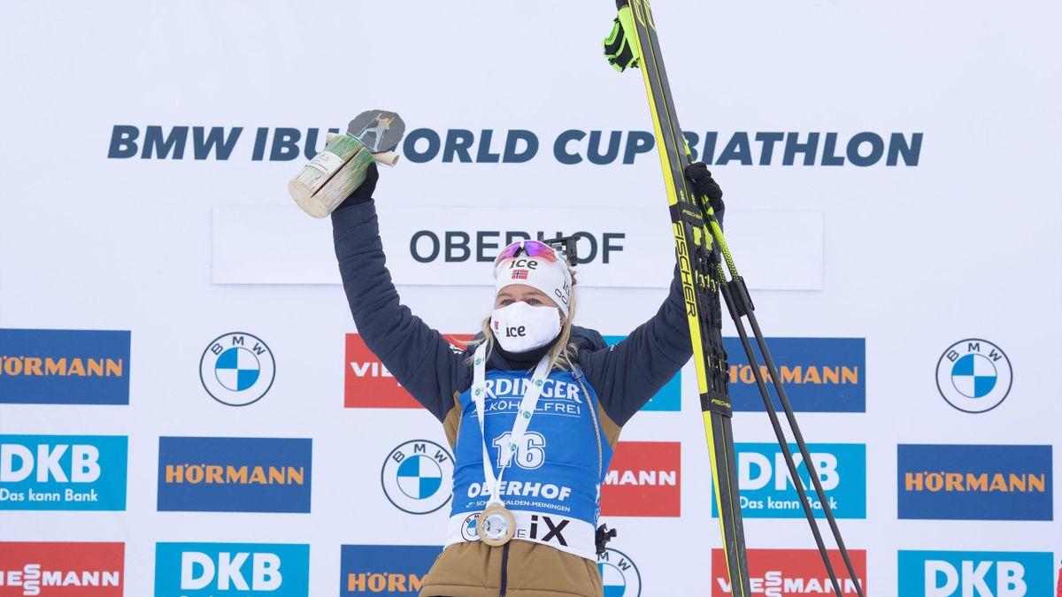 Tiril Eckhoff gewinnt in Oberhof