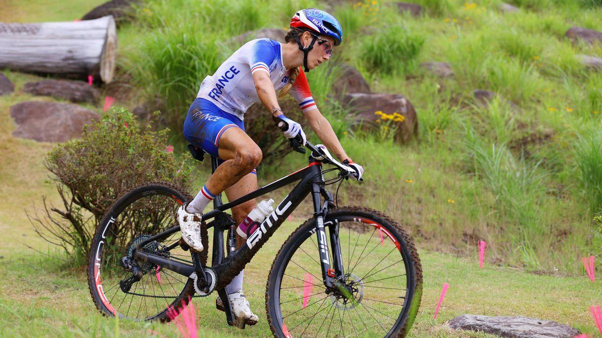 Pauline Ferrand-Prévot, 9e aux Jeux Olympiques de Tokyo