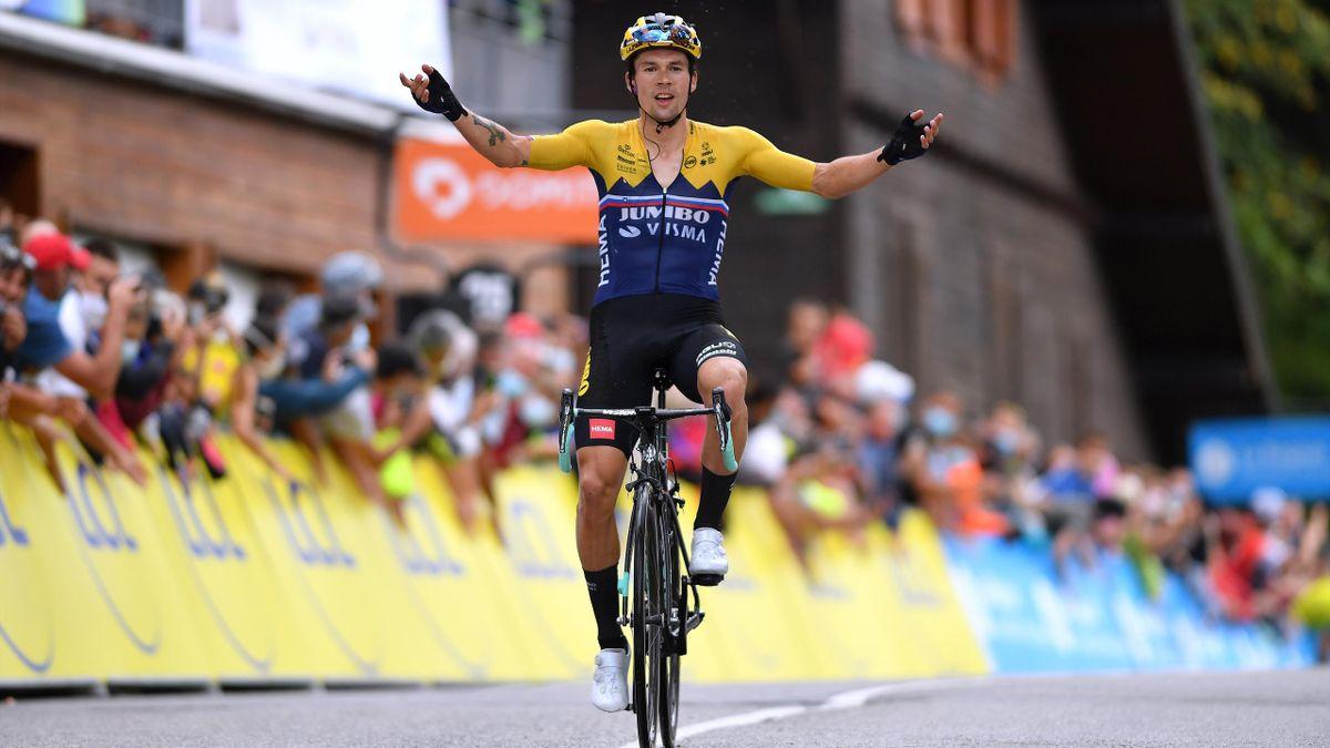 Primoz Roglic Takes Convincing Stage 2 Win At Criterium Du Dauphine Eurosport