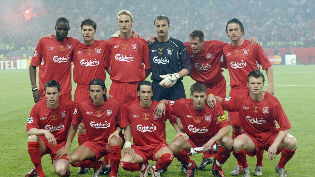 Echipa de start a lui Liverpool la finala cu AC Milan din 2005