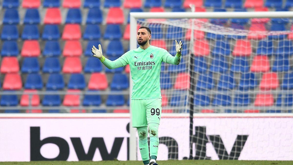 Donnarumma, Serie A, Bologna-Milan