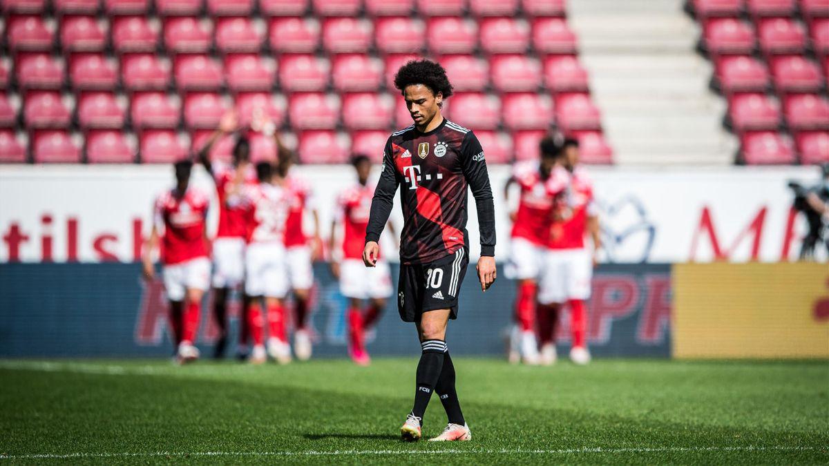 Leroy Sané (FC Bayern München) im Spiel gegen FSV Mainz 05