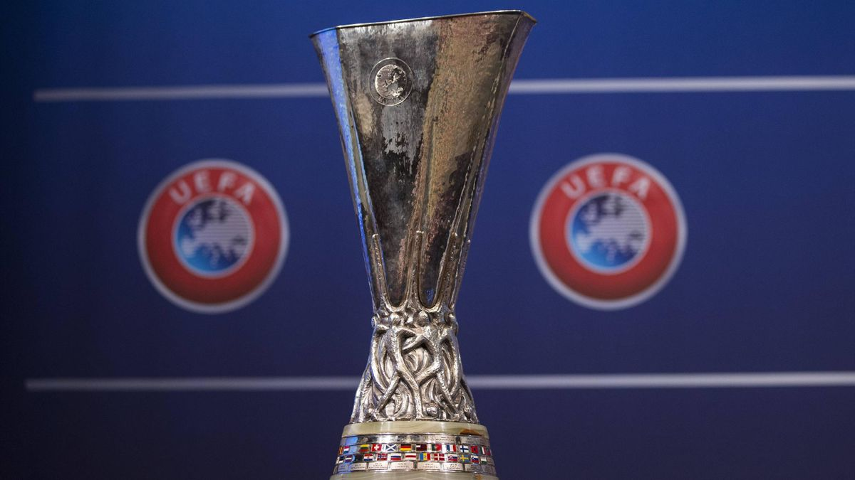 Europa League Draw Trophy Feature