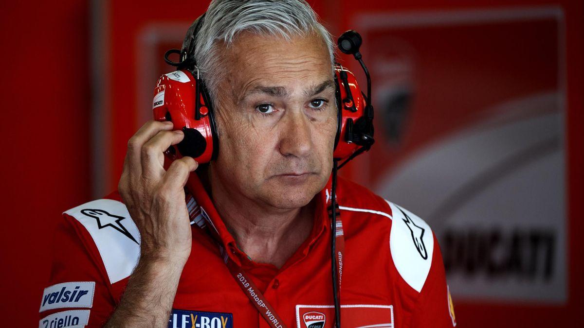 Davide Tardozzi, Team Manager Ducati, Getty Images