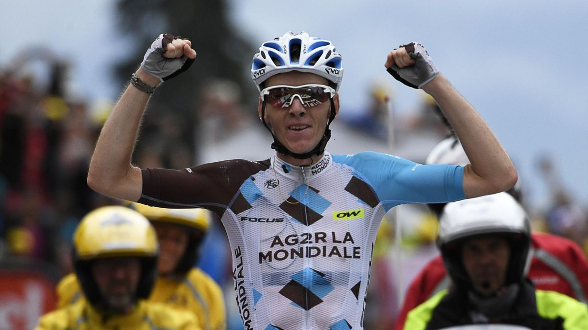 Romain Bardet wins stage 19 of the Tour de France