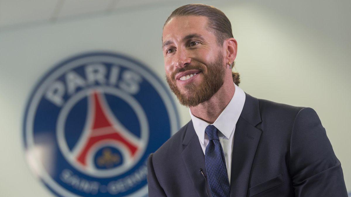 Sergio Ramos hat bei Paris Saint-Germain einen Vertrag bis 2023 unterschrieben