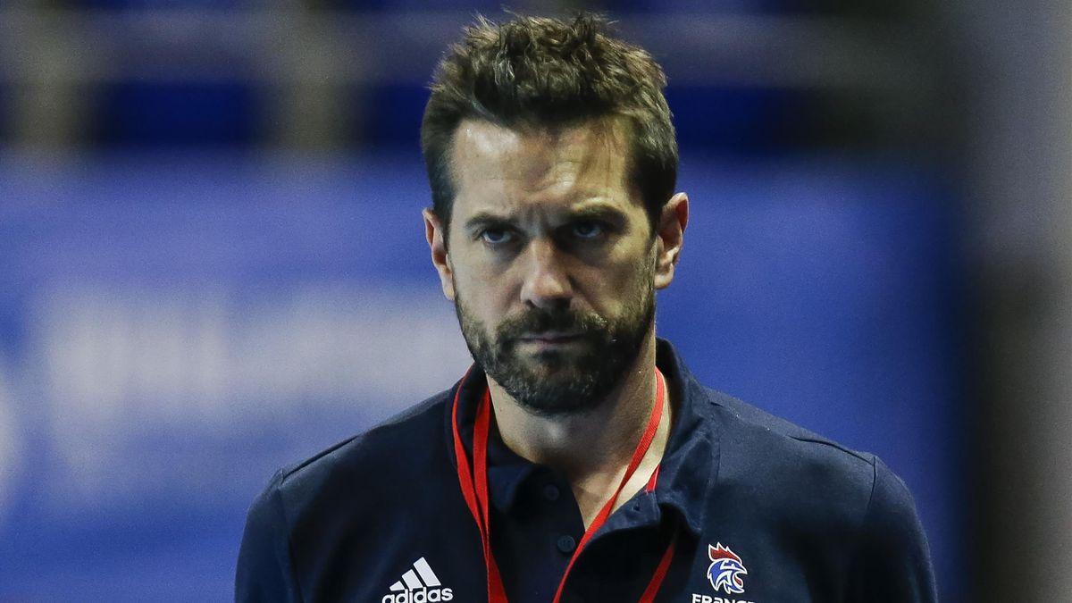 Guillaume Gille, le sélectionneur de l'équipe de France de hand, le 5 janvier 2021