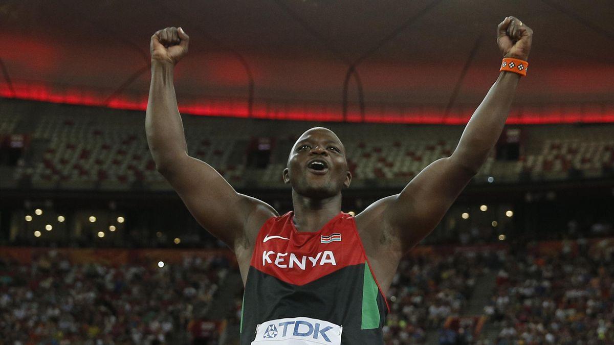 Julius Yego, champion du monde du javelot en 2015