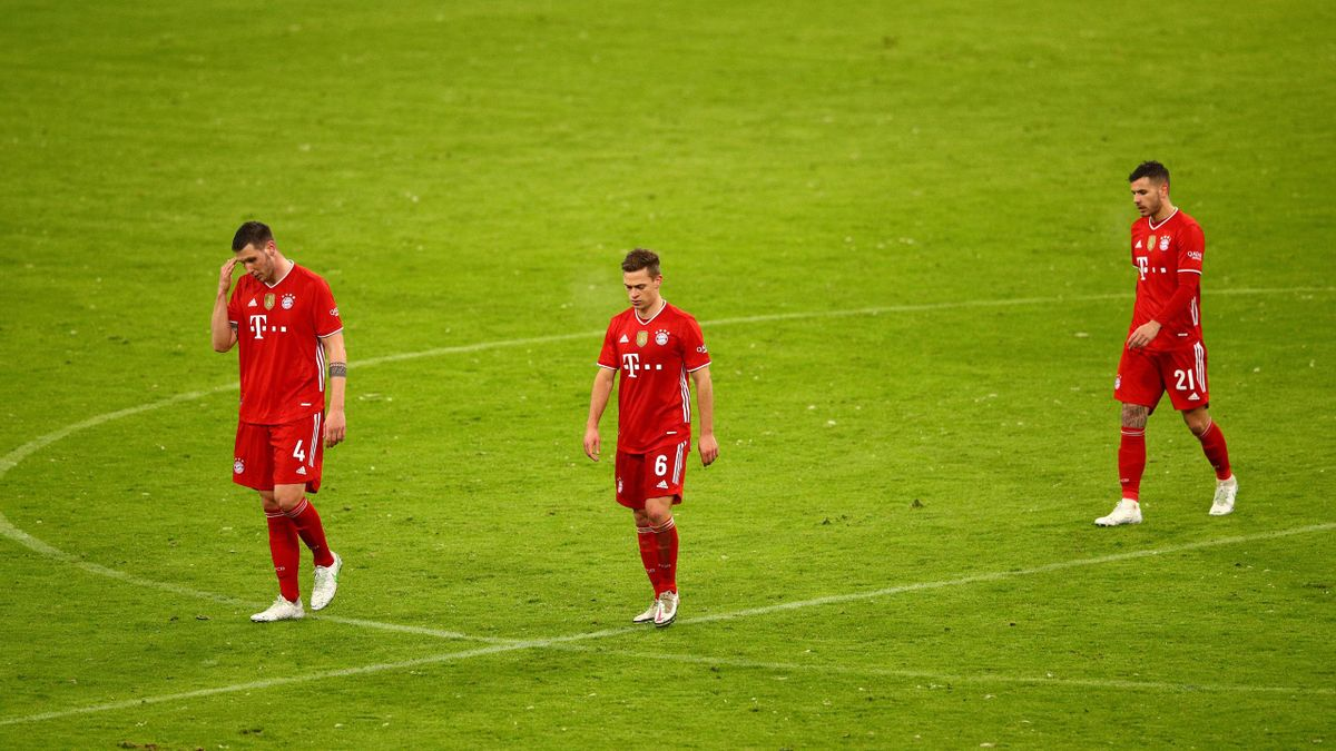 Bayern Munich have only taken one point from two Bundesliga matches