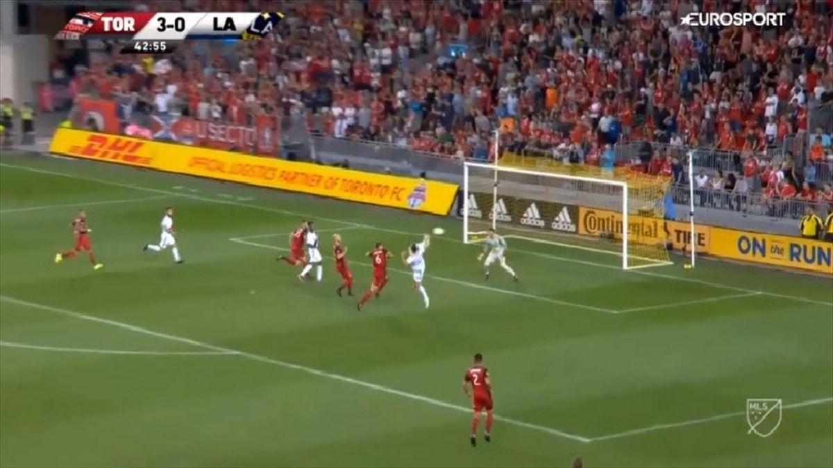 Ibrahimovic goal against Toront