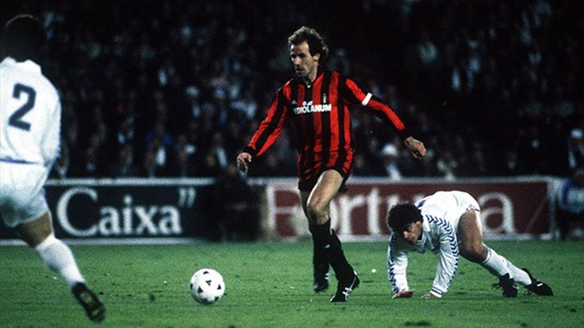 Franco Baresi Milan-Real Madrid