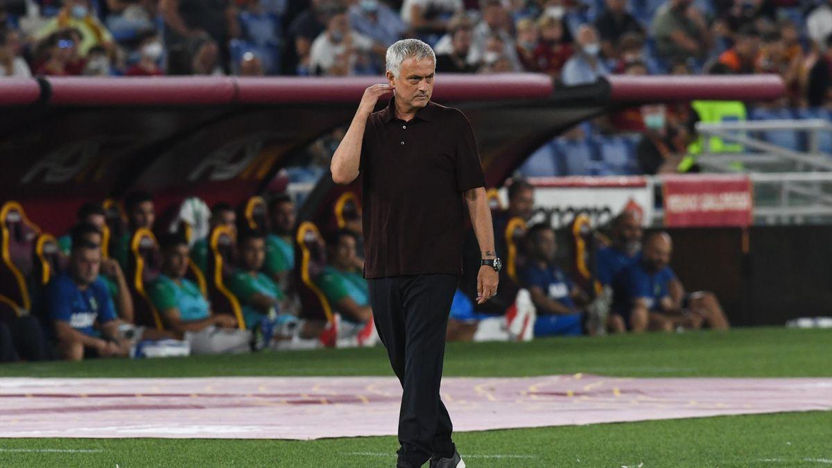 José Mourinho, allenatore della Roma