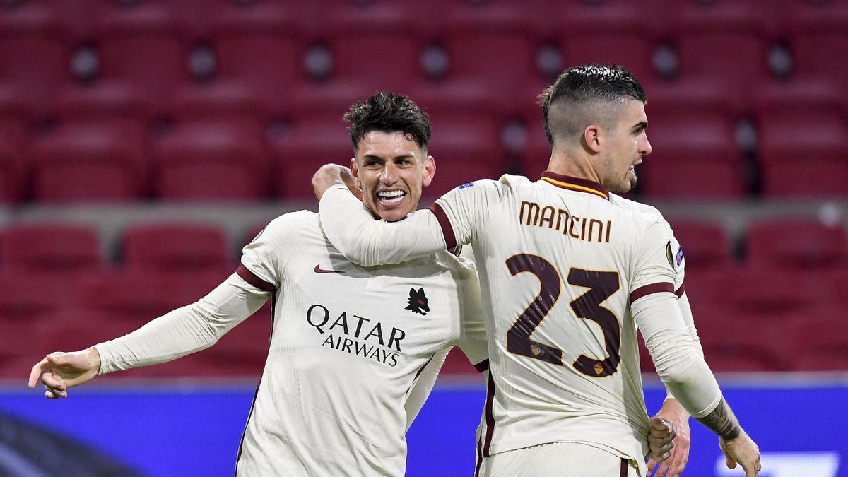 Mancini e Ibanez, Roma, Europa League 2020-21