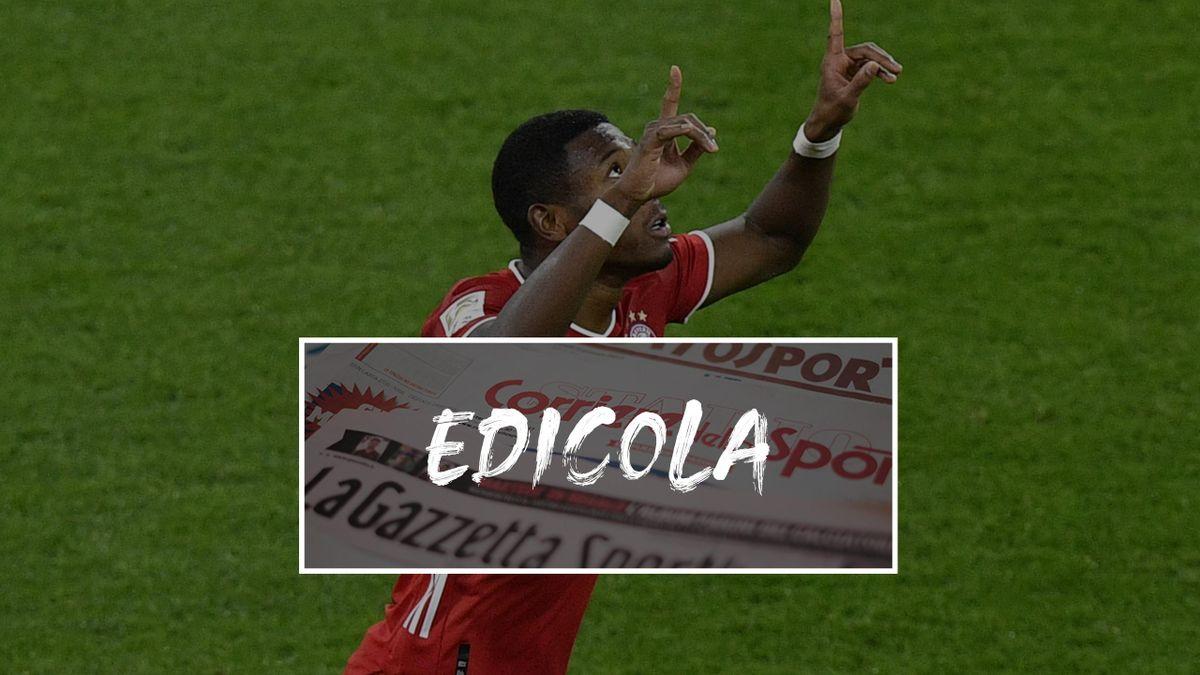 David Alaba - Edicola
