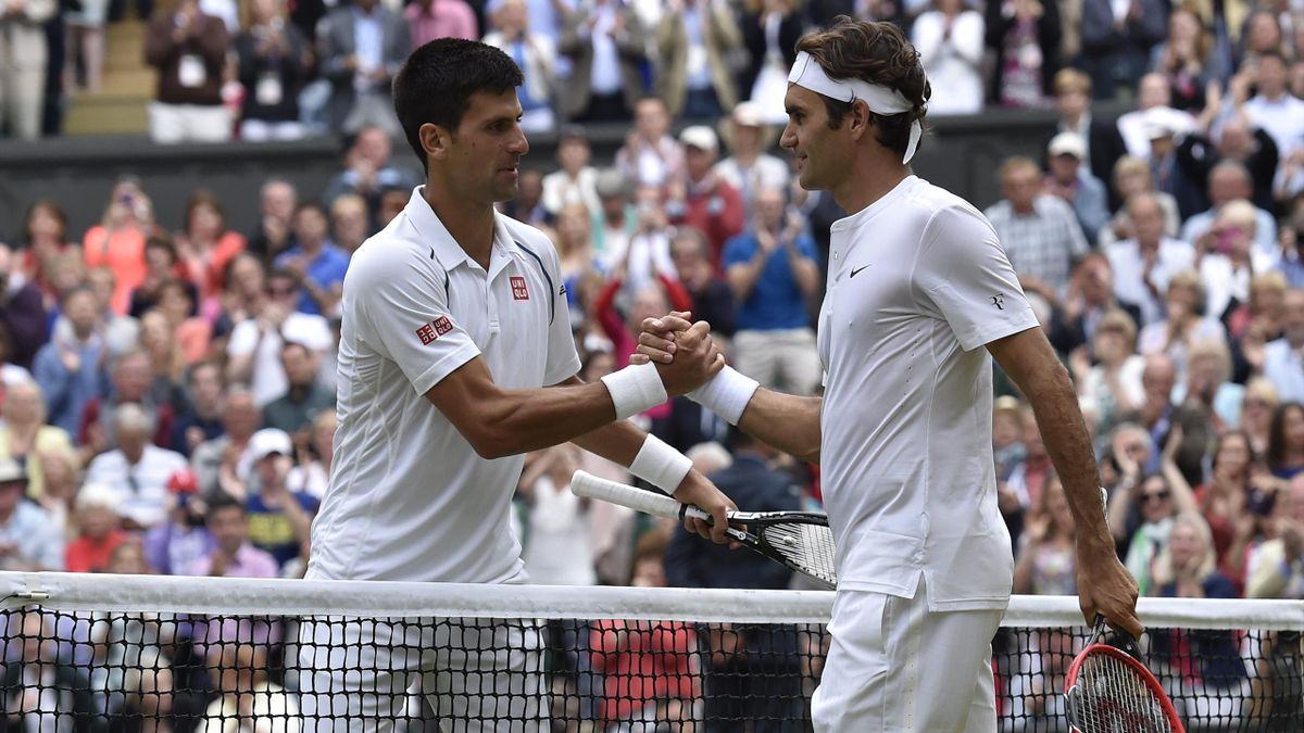 Roger Federer - Novak Djokovic - Wimbledon