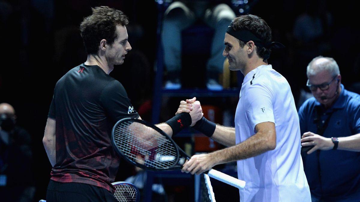 Roger Federer Andy Murray