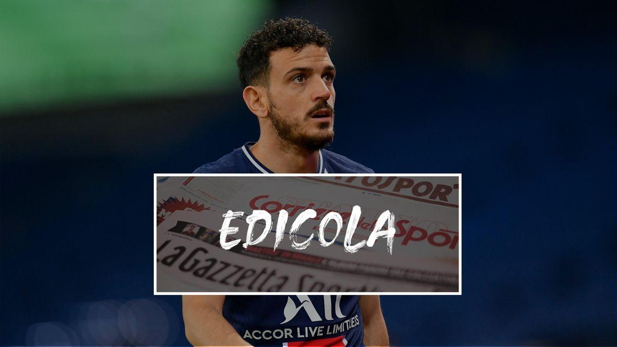Edicola. Alessandro Florenzi - PSG
