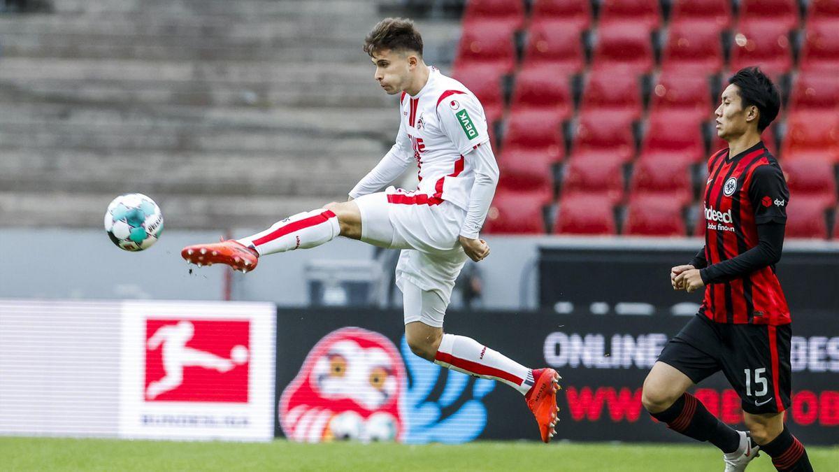 Der 1. FC Köln holte gegen Eintracht Frankfurt den ersten Punkt der Saison