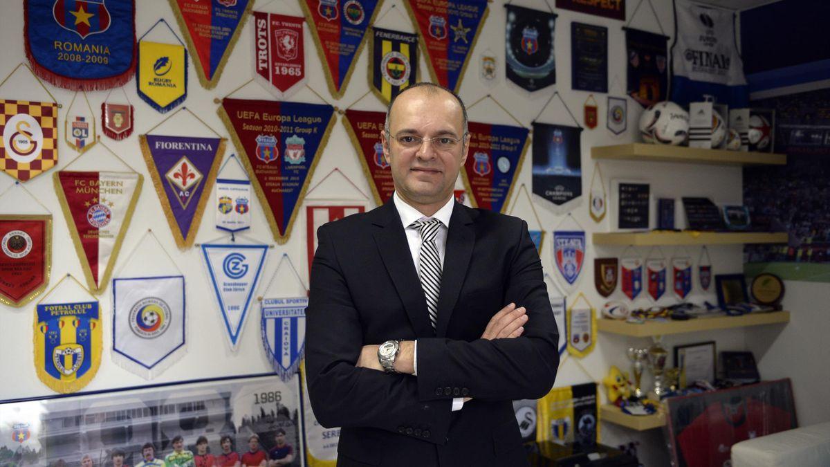 Bobby Durbac a fost director de marketing la Steaua, în perioada 2008-2011 / Sursa foto: Mediafax
