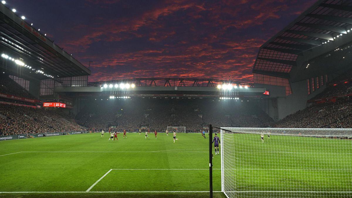 Hier könnte Timo Werner bald anlaufen: Die Anfield Road zu Liverpool