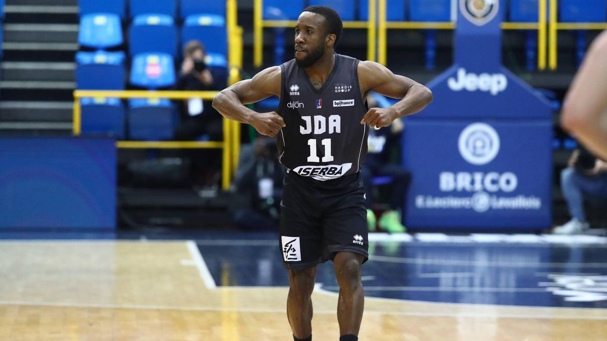 David Holston (JDA Dijon Basket), 2021