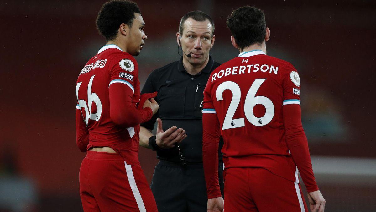 Trent Alexander-Arnold und Andy Robertson vom FC Liverpool