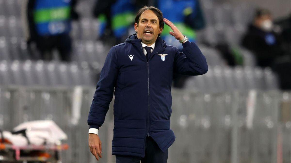 Simone Inzaghi - Bayern Monaco-Lazio Champions League 2020-21