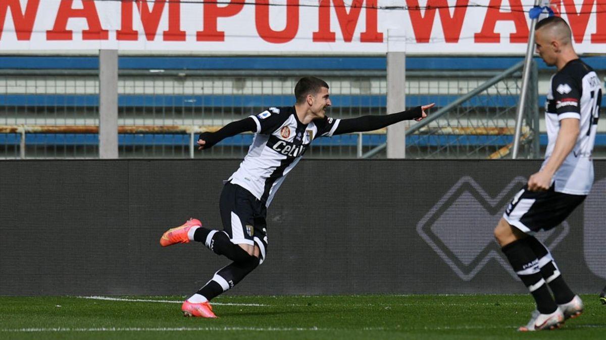 Valentin Mihaila - Parma-Roma Serie A 2020-21
