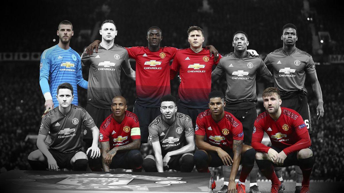 Les XI des absents de Manchester United