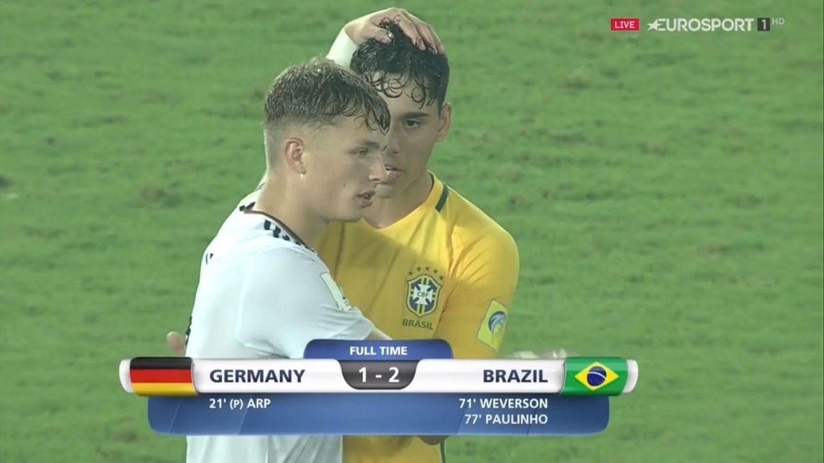 Jann-Fiete Arp gegen Brasilien
