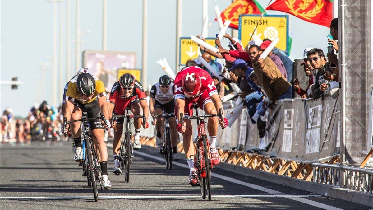 Cavendish vs Kristoff - Pic: ©QCF/Paumer/Kåre Dehlie Thorstad